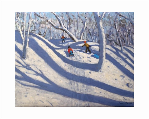 Winter, Bramcote, Nottingham by Andrew Macara
