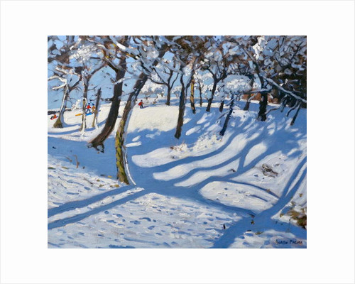 Winter Ladmanlow, Buxton, Derbyshire, 2010 by Andrew Macara
