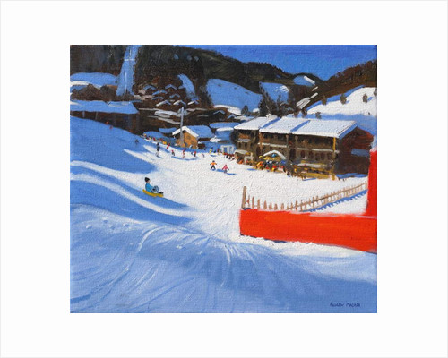 Skiing;La Clusaz , France by Andrew Macara