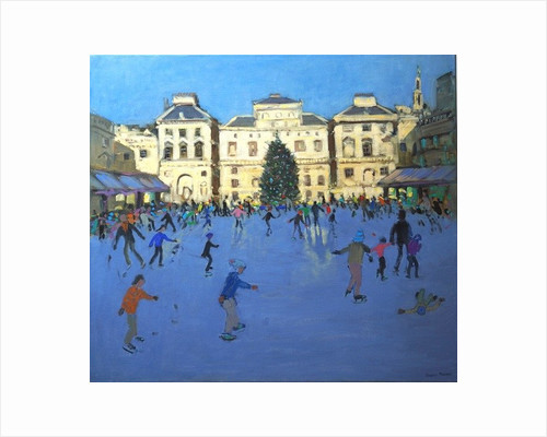Skaters, Somerset House by Andrew Macara