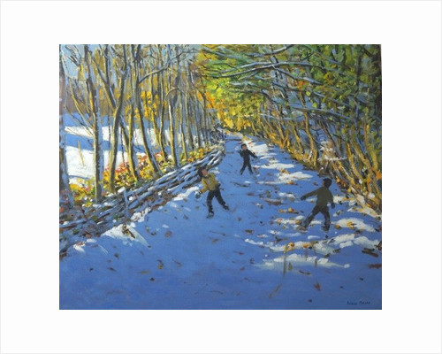 Yellow trees, Allestree Park by Andrew Macara
