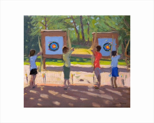 Young Archers by Andrew Macara