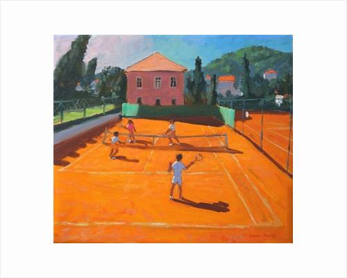 Clay Court Tennis,Lapad,Croatia by Andrew Macara