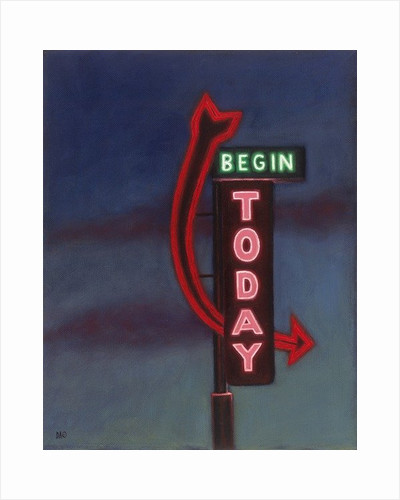 Begin Today by David Arsenault