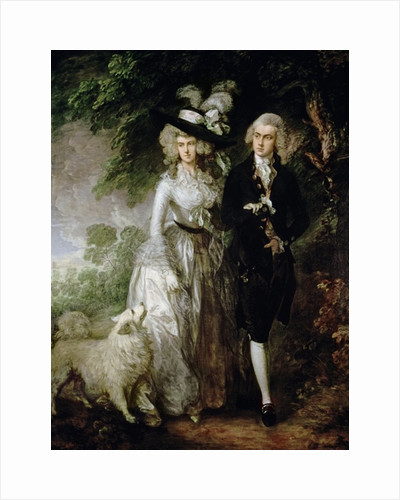 Mr and Mrs William Hallett (The Morning Walk) by Thomas Gainsborough