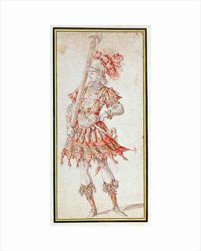 Costume design for Carousel by Henry Gissey