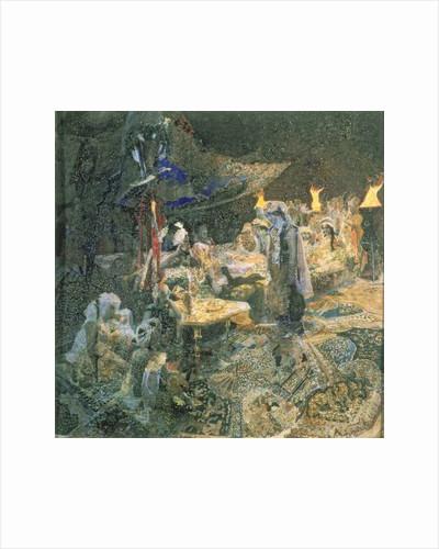 Eastern Tale by Mikhail Aleksandrovich Vrubel
