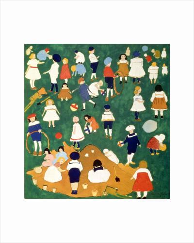 Children by Kazimir Severinovich Malevich