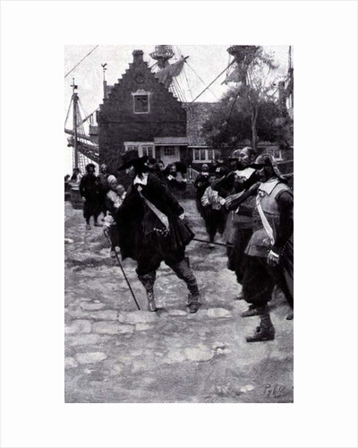 The Arrival of Stuyvesant in New Amsterdam by Howard Pyle