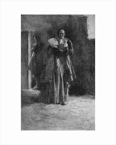 Giles Corey in Prison by Howard Pyle