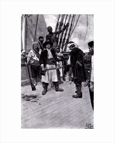 Sunday Morning, Victorian card by Howard Pyle