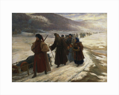 Road to Siberia by Sergei Dmitrievich Miloradovich