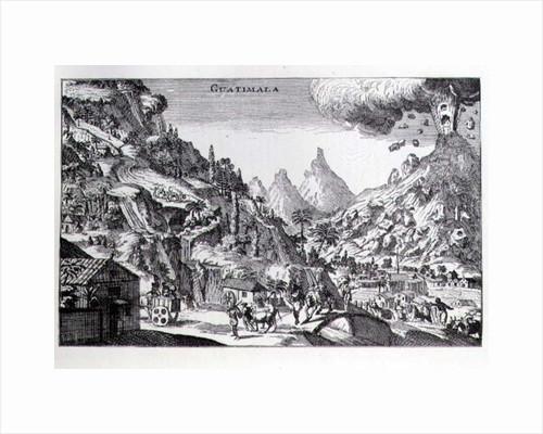 'Guatemala', in Spanish North America by Netherlandish School