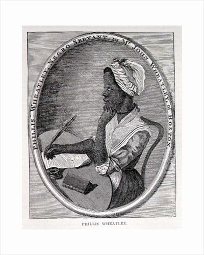 Portrait of Phillis Wheatley by American School