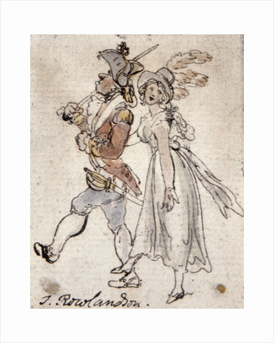 Caricature by Thomas Rowlandson