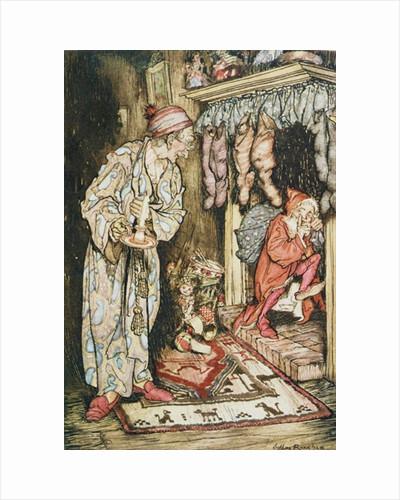 Christmas illustrations by Arthur Rackham