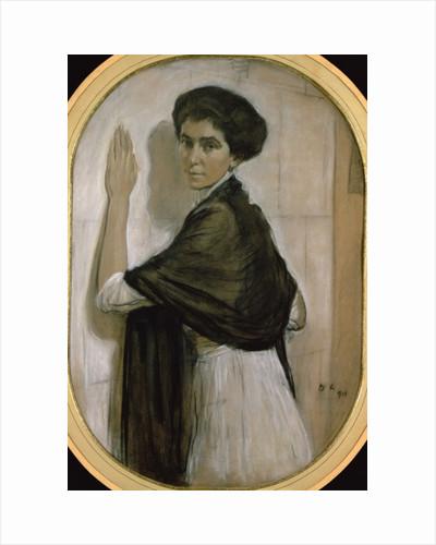 Portrait of Countess Olsuphyev by Valentin Aleksandrovich Serov