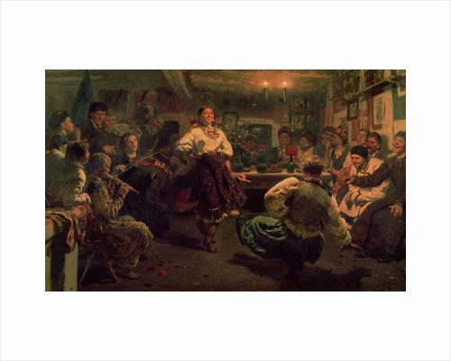 Country Festival by Ilya Efimovich Repin