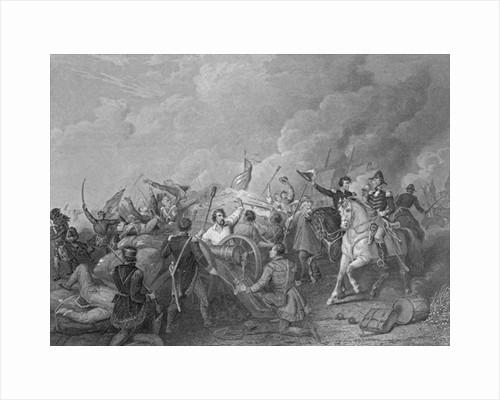 Battle of New Orleans, 8th January 1815 by Thomas Light Merritt