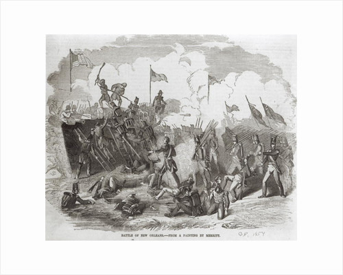 The Battle of New Orleans, 8th January 1815 by Dennis Malone Carter