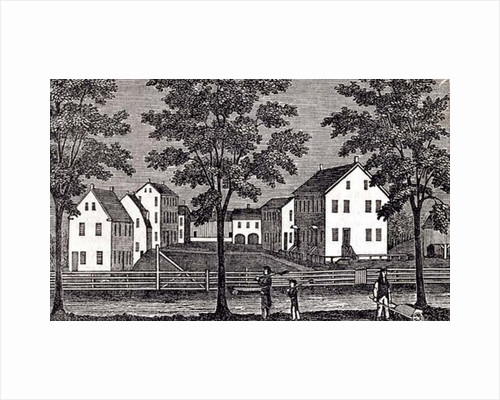 Shaker houses in Enfield by American School