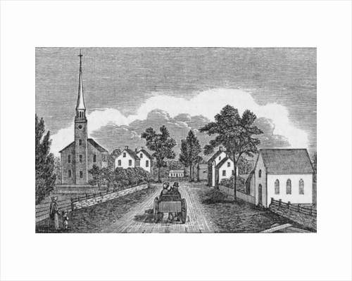 Congregational and Episcopal Churches, East Haven by American School