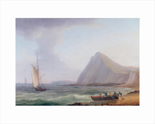 Dover Cliffs by Thomas Whitcombe