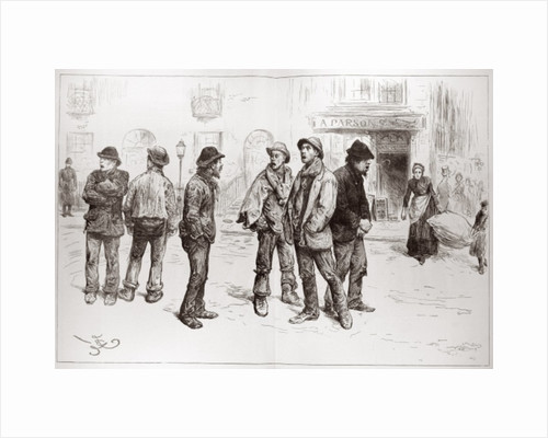 The Unemployed of London: 'We've Got No Work to Do' by Frederick Barnard