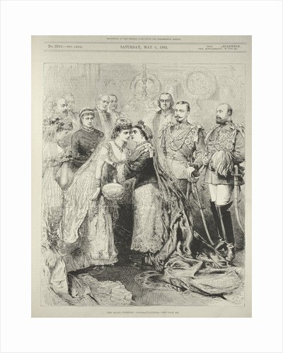 The Royal Wedding: Prince Leopold, Duke of Albany to Princess Helen of Waldeck-Pyrmont in St. George's Chapel, Windsor by English School