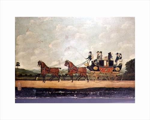 The Dartford, Crayford and Bexley Stagecoach by John Cordrey