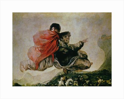 Fantastic Vision (Asmodeus) by Francisco Jose de Goya y Lucientes