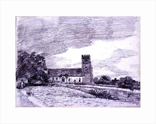 Feering Church by John Constable