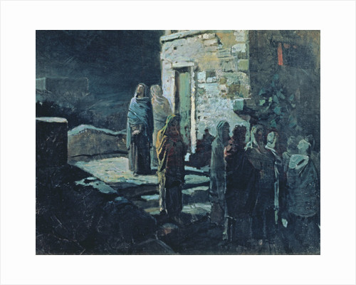 Christ after the Last Supper in Gethsemane by Nikolai Nikolajevitch Gay
