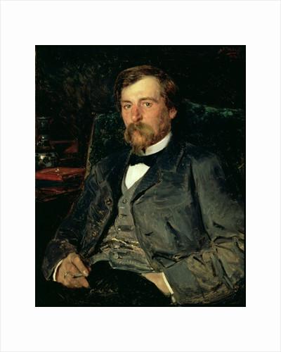 Portrait of the Artist Illarion Mikhailovich Pryanishikov by Vladimir Egorovic Makovsky