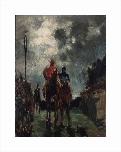 The Jockeys by Henri de Toulouse-Lautrec