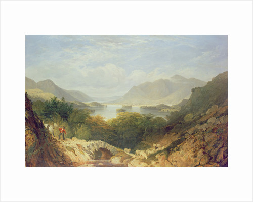 Derwent Water with Ashness Bridge by William Linton