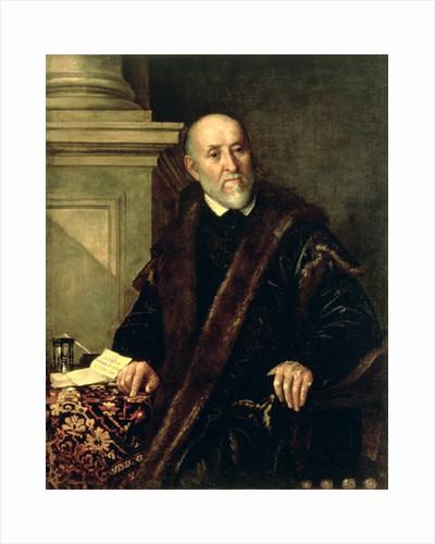Portrait of Tommaso Giunta by Benedetto Caliari