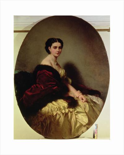 Portrait of the Countess Sophie Naryshkina by Franz Xaver Winterhalter