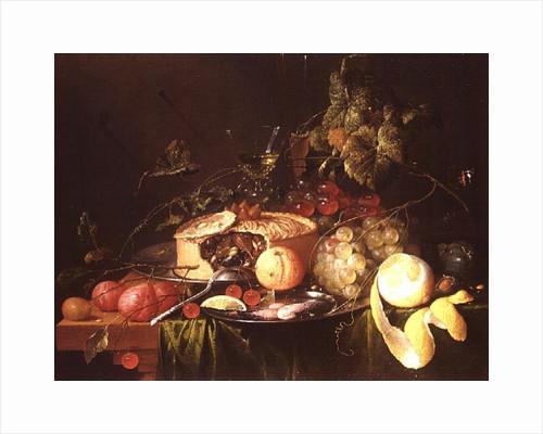Still Life of Fruit by Jan Davidsz. de Heem