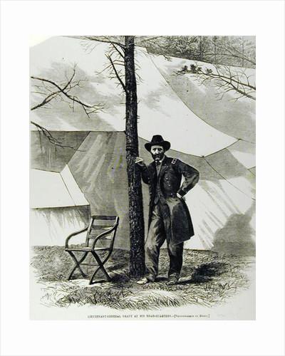 Lieutenant General Ulysses S. Grant, at his Head-Quarters by Mathew Brady