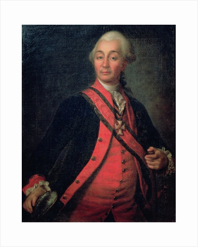 Portrait of Field Marshal Generalissimo, Count Aleksandr Vasilievich Suvorov by Dmitri Grigor'evich Levitsky