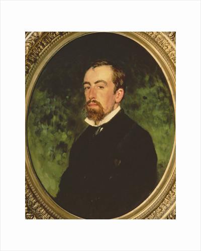 Portrait of Vasiliy Polenov by Ilya Efimovich Repin