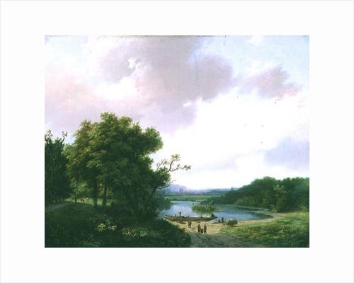 Rural Landscape by Barend Cornelis Koekkoek