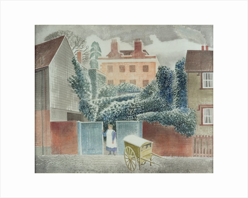 Baker's Cart by Eric Ravilious