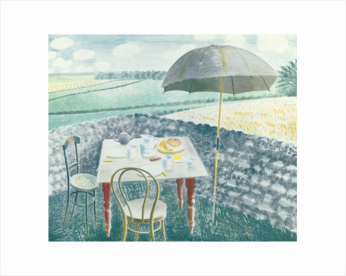 Tea at Furlongs by Eric Ravilious