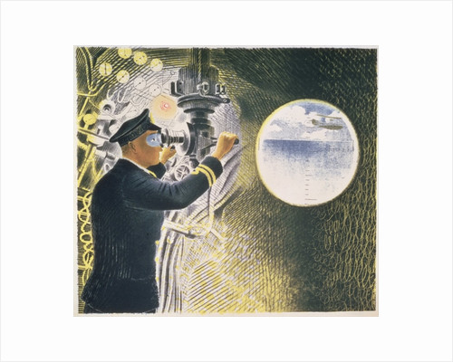Submarine by Eric Ravilious