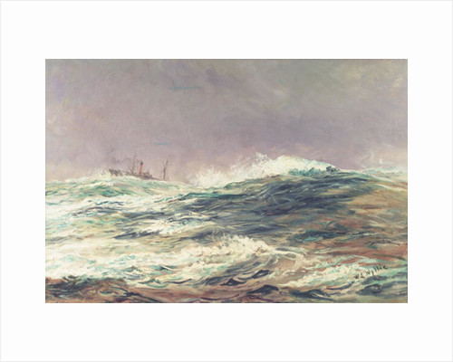 Ebb Tide, Long Reach by William Lionel Wyllie