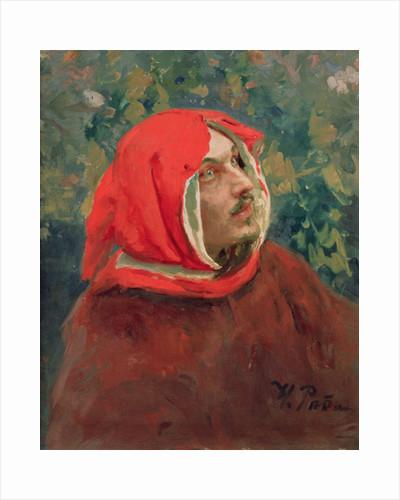 Portrait of Dante Alighieri by Ilya Efimovich Repin