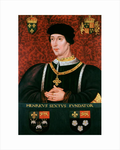 Portrait of Henry VI of England by Francois Clouet