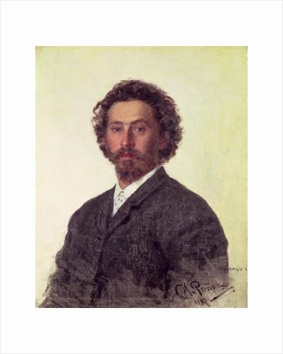 Self Portrait by Ilya Efimovich Repin